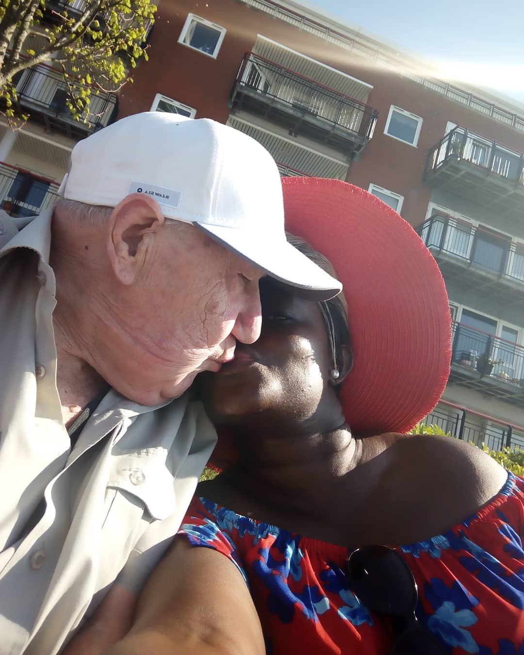 I married him when I didn't know Christ - Ghanaian Lady Ashlorm explains her marriage to a 90-Year-old white man