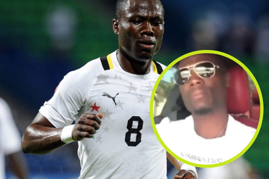 "Blackstars Player Agyemang Badu Jams To New Shatta Wale And Millitantz Song ""Thunder Fire"""