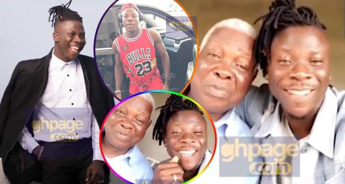 Bhim boss Stonebwoy hangs out with his dad