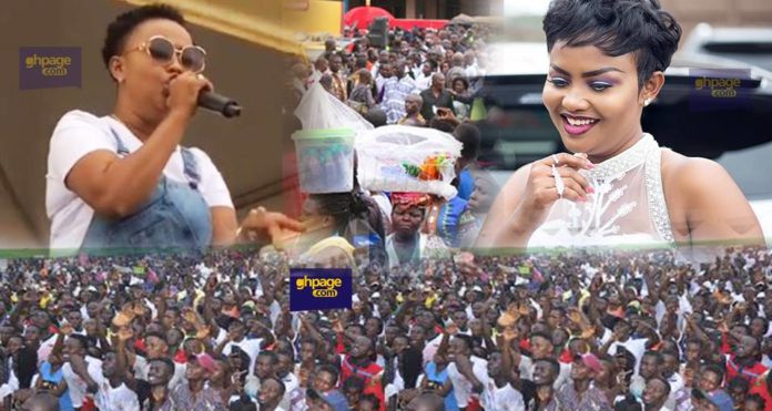Nana Ama Mcbrown surprise crowd with massive performance of Ebony songs