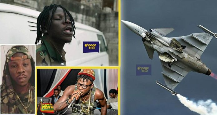 I have always dreamed of being a soldier but here I am now - Stonebwoy