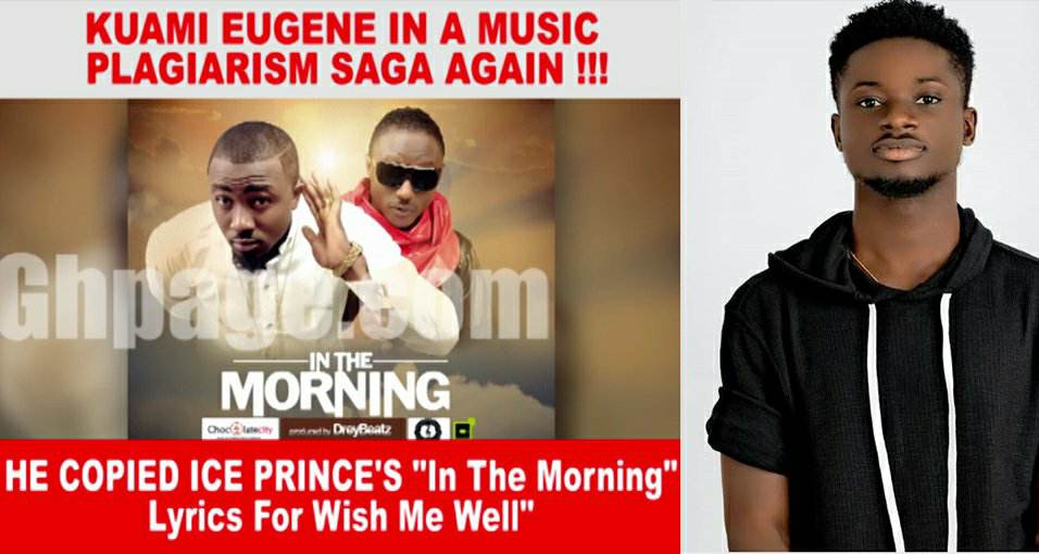 Kuami Eugene accused of stealing song again