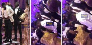 Sarkodie hits the dancefloor with his mum