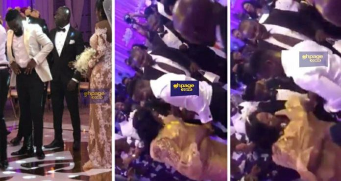 Sarkodie hits the dancefloor with his mum