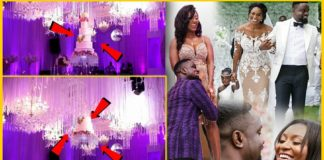 Tracy Sarkcess reveals the motive behind her wedding cake