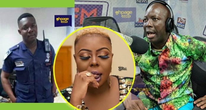 Kumchacha reveals what arrested Midland policeman told him after his fight with Afia Schwar