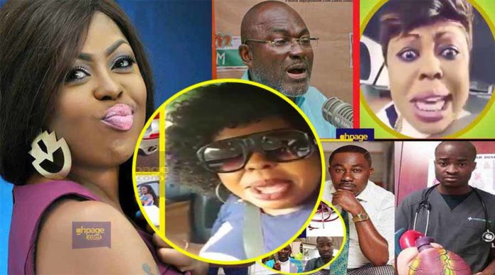 Afia Schwarzenegger supports Kennedy Agyapong after Evangelist Addai called him an occultist
