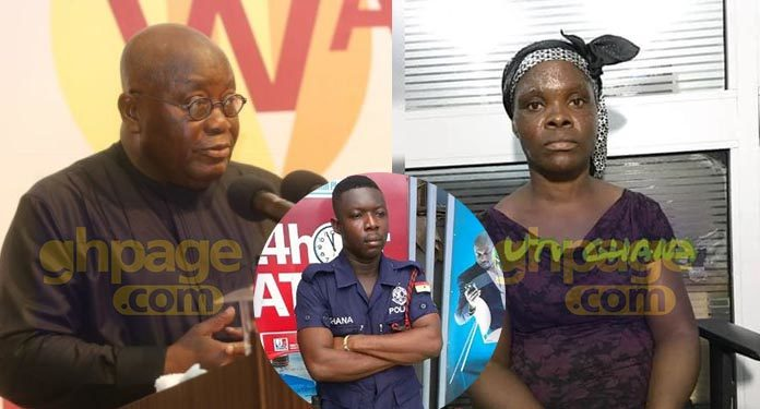 Banking hall assault: I will support IGP's sanction on the Police officer – Akufo-Addo