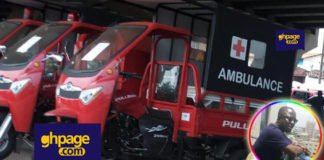 Use of tricycles as ambulances - Kwame Tutu charges Ghanaians to be angry
