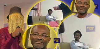 Ken Agyapong shows Anas full face in latest video