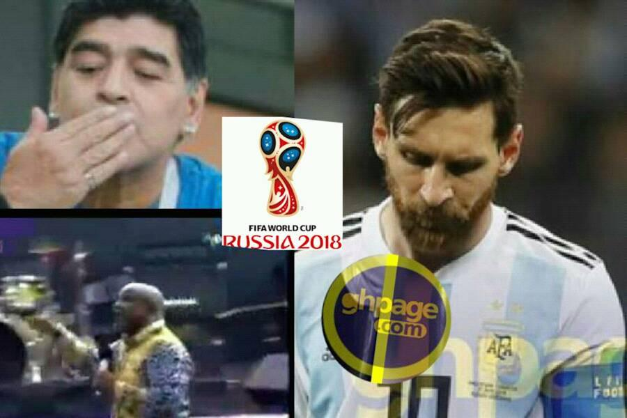 Video: The Prophet who prophesied the winner of 2018 World cup misses narrowly