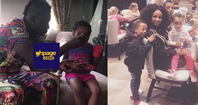 Asamoh Gyan and family spends quality time in London