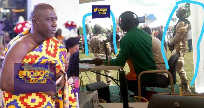 NPP Delegates conference: Captain Smart and his 'military' bodyguards allegedly arrested for gun possession