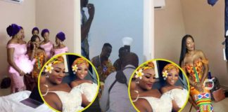 Nana Aba Anamoah and others spotted at Sarkodie's engagement