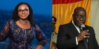 Akuffo Addo jabs Charlotte Osei says she is not above the laws of Ghana