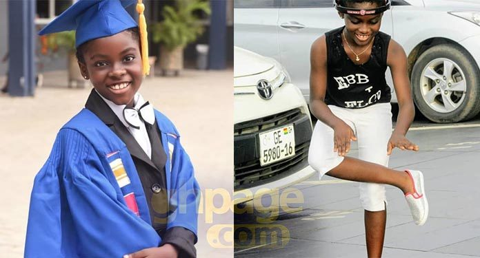 Photo: DJ Switch all grown up as she graduates to Junior High School