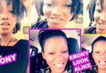 Reincarnation? New Ebony lookalike pops up on social media