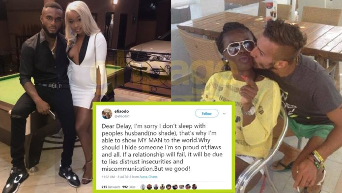 I don't sleep with people's husbands like you - Efia Odo tells Delay