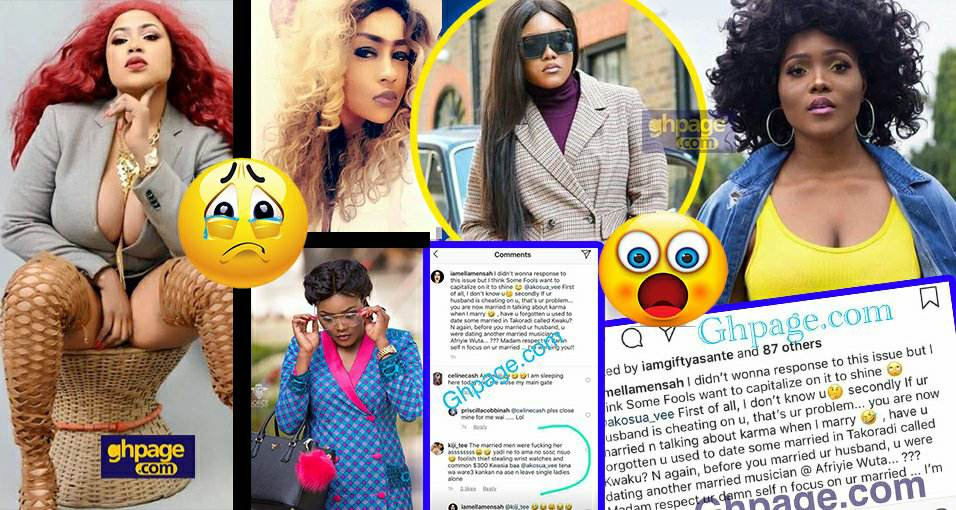 Hypcocrite, you dated married men before you luckily got married to A Plus – Actress shades A Plus' wife
