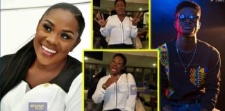 Watch how Emelia Brobbey danced to Kuami Eugene's 'Wish me Well'