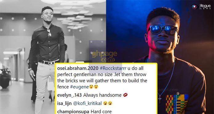 Kuami Eugene applauded for his style of dressing
