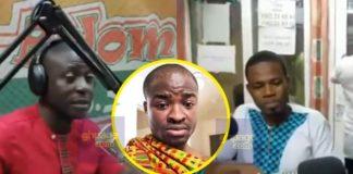 Adom FM presenters blast Evangelist Addai