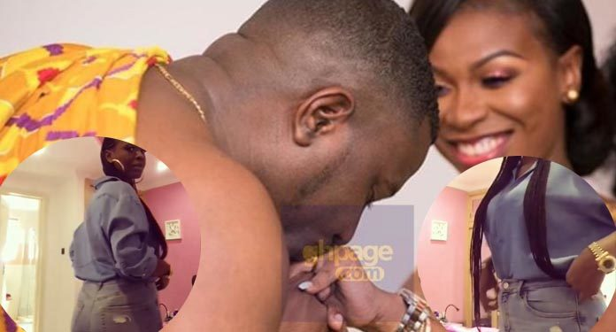 John Dumelo's wife shows more of her backside in latest video
