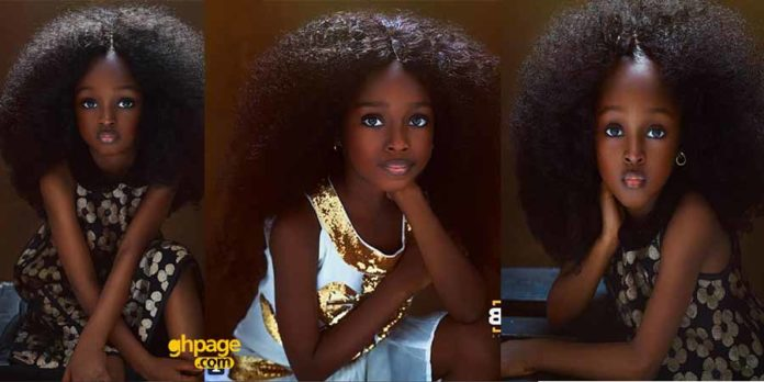 Jare from Nigeria is the new most beautiful girl in the world
