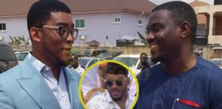 Actor James Gardiner reacts to why John Dumelo dumped his sister