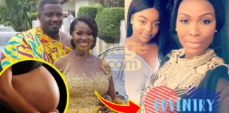 Latest video of John Dumelo's wife shows she's heavily pregnant as she shows her baby bump[Watch]