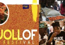 Ghana placed third year's Washington DC Jollof Festival