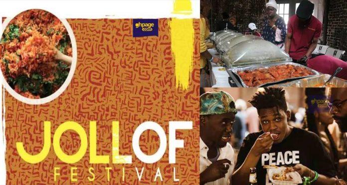 Ghana placed third year's Washington DC Jollof Festival