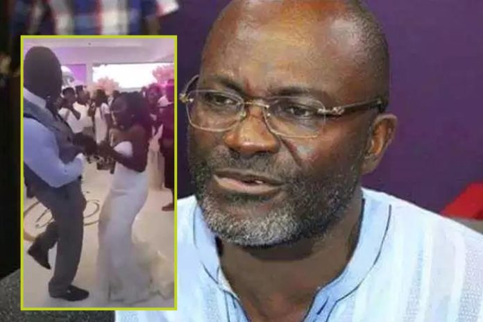Ken Agyapong 'funny' dance with his daughter goes viral