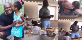Video: Kennedy Agyapong and his little daughter dance to Lilwin's 'Mama Boss Papa'