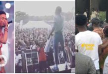 Kuami Eugene's performance at London's Ghana Party in the park 2018