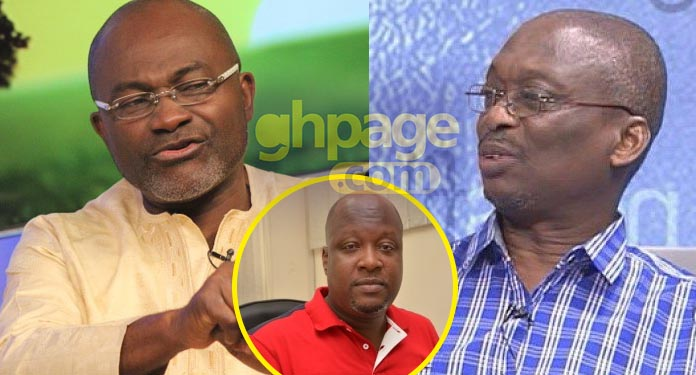 Kwaku Baako and Kwame Sefa reply Ken Agyapong about doing Galamsey brouhaha