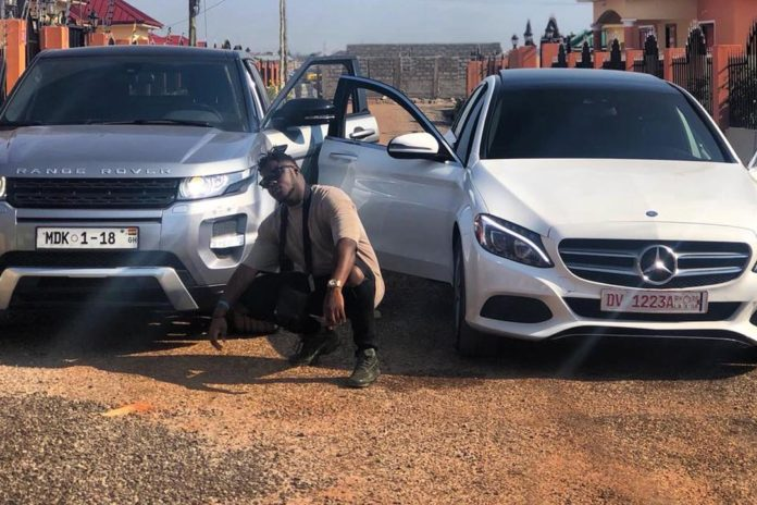 Medikal acquires a new Benz car + his mother react