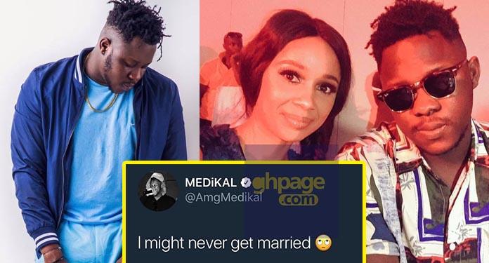 I might never get married – Medikal