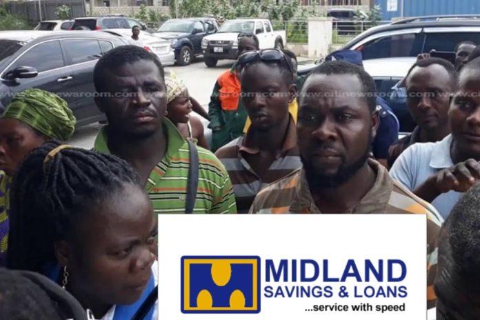 Midlands assault: Customers troop Midlands to withdraw their savings