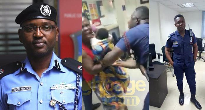 'We'll never do this' - Nigerian police chief mocks Ghana Police over the assault on a woman at a banking hall