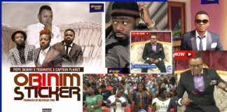 "Angel Obinim and his church members jam to ""Obinim sticker"" song"