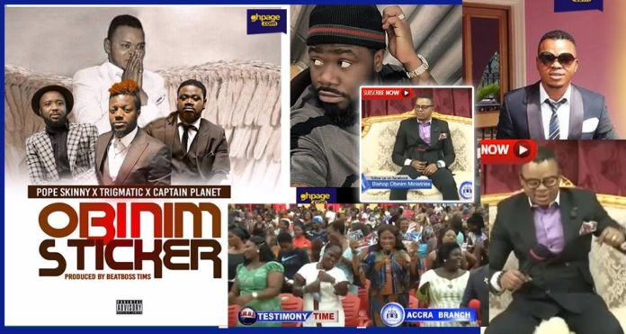 Angel Obinim and his church members jam to