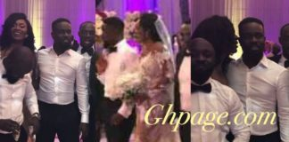 More photos from Sarkodie and Tracy's White Wedding at Labadi Beach pop up