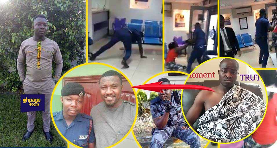 The policeman is an illuminati because he is friends with John Dumelo – Evangelist Addai