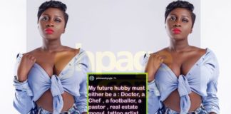 Princess Shyngle makes list of professions her future husband must be into
