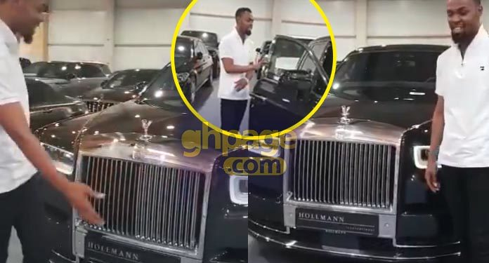 Rev. Obofour adds to his list of cars a 2018 Rolls Royce Phantom
