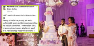 """Sarkodie wedding planner accused of stealing """"Helicopter"""" cake idea"""