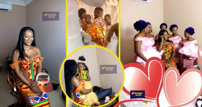 Photos of Sarkodie and Tracy's traditional marriage ceremony