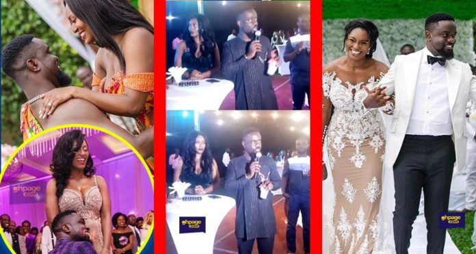 First public appearance of Sarkodie and Tracy after wedding