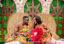 Here are the official photos from Sarkodie's Traditional wedding